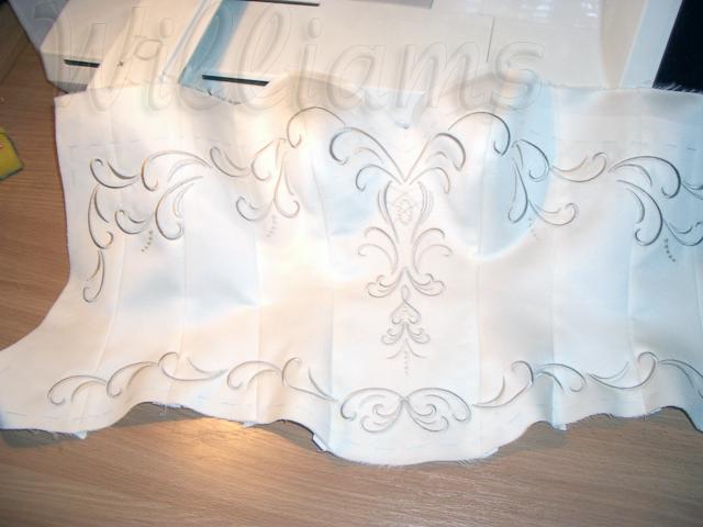 Вышивка бисером свадебных платьев схемы 3