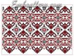 Дизайн машинной вышивки крестиком