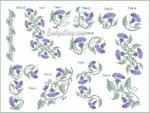 Коллекция дизайнов машинной вышивки крестиком