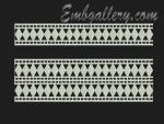 Коллекция из 12 дизайнов машинной вышивки