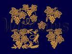 Коллекция дизайнов машинной вышивки