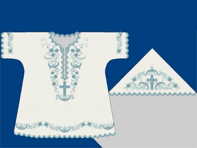 Крестильная вышивка дизайны 60