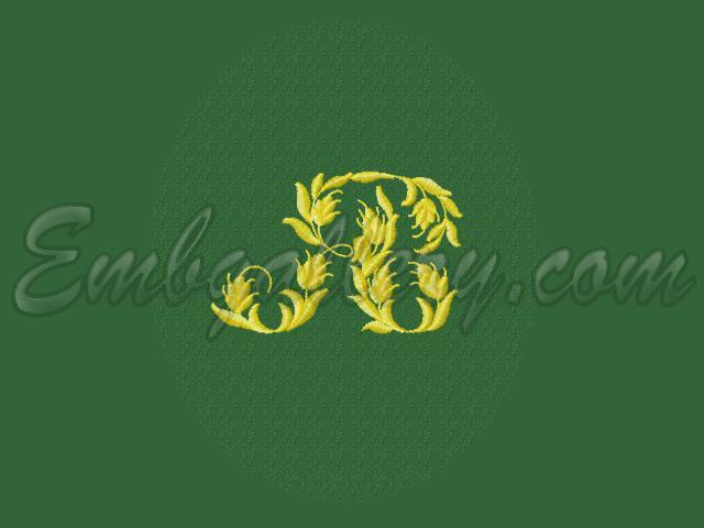 Дизайн машинной вышивки из картинки