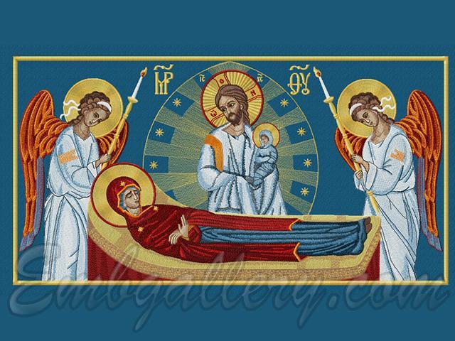 Икона успение богоматери
