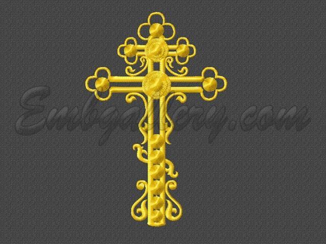 Дизайн машинного крестика