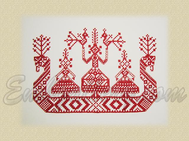 Вышивки французским узелком фото
