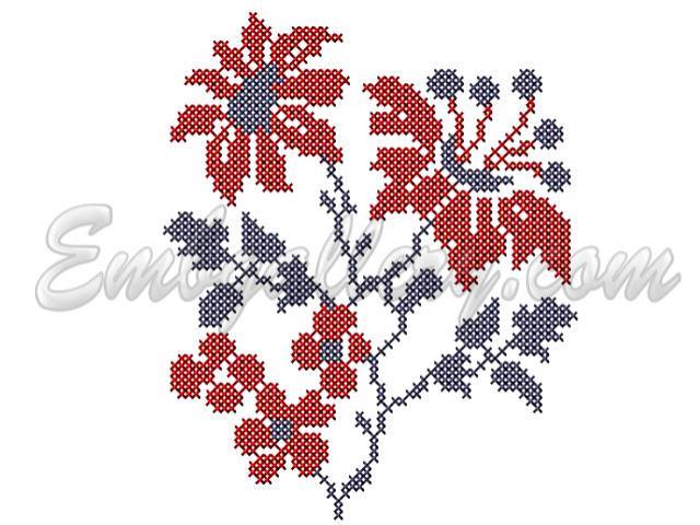 Дизайны вышивки крестов бесплатно