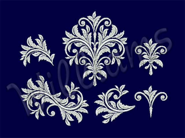 Вышивки стиля барокко
