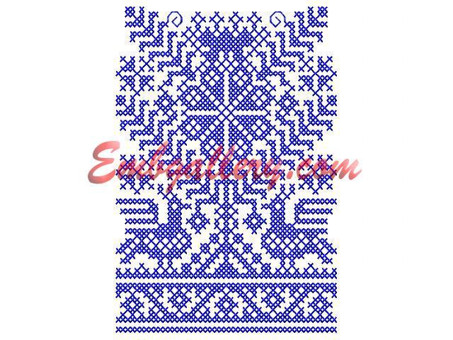 Дизайн вышивки в формате dst