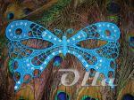 Карнавальная маска-бабочка