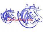 """Лошадь и подкова"""
