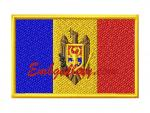 """Флаг Молдовы"""