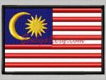 """Флаг Малайзии"""