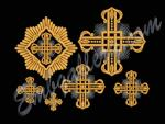 """""""Набор крестов для церковных облачений"""""""