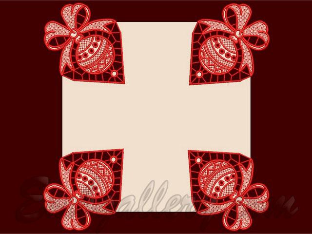 Дизайн готовых вышивок